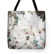 Flowering Star Magnolia Tote Bag