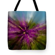 Flowering To The Sky Tote Bag