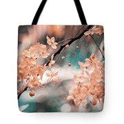 Flowering Tree. Nature In Alien Skin Tote Bag