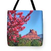 Flowering Tree - Sedona Red Rock Tote Bag