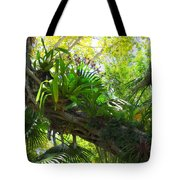 Flowering Twisted Roots Tote Bag
