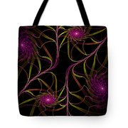 Flowering Vine Tote Bag