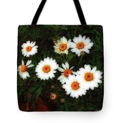 Flowering Yew Tote Bag