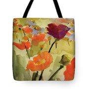 Poppy Hill Tote Bag