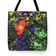 Flowers After Mass Tote Bag