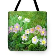 Flowers Along The Edge 1006 Tote Bag