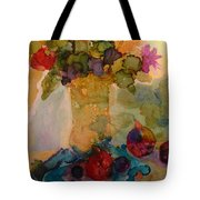 Flowers And Figs Tote Bag