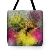 Flowers And Glass Tote Bag