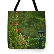 Flowers And Lanterns Tote Bag