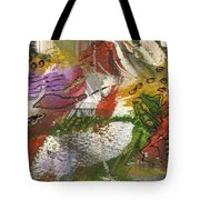 Flowers And Leaves IIi Tote Bag