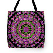 Flowers And More Floral Dancing A Power Peace Dance Tote Bag