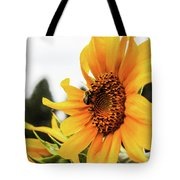 Flowers And The Bees Tote Bag