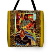 Flowers And Wings For Her Tears And Years Tote Bag