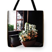 Flowers At Chenonceau Tote Bag