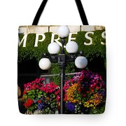 Flowers At The Empress Tote Bag