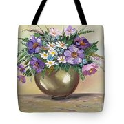Flowers,still Life Tote Bag