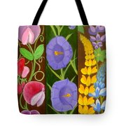 Flowers Composition 6 Tote Bag