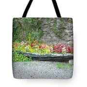 Flowers Floating Tote Bag