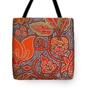 Flowers For Fleet Foxes Tote Bag