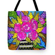 Flowers For Joujou Tote Bag