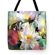 Flowers For My Friend Tote Bag