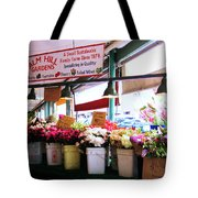 Flowers For Sale Tote Bag