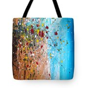 Flowers For The Bees Tote Bag