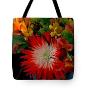 Flowers From Dad Tote Bag