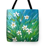 Flowers From Nature Tote Bag