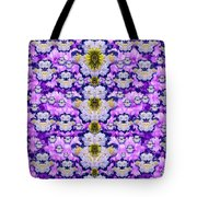 Flowers From Sky Bringing Love And Life Tote Bag