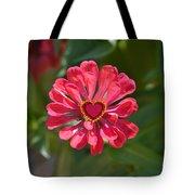 Flower's Heart Tote Bag