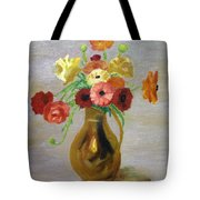 Flowers In A Pitcher -11 Yrs Old Tote Bag