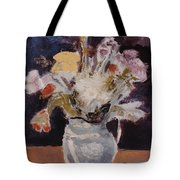 Flowers In A Pitcher Tote Bag