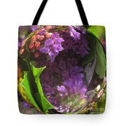 Flowers In A Raindrop Tote Bag