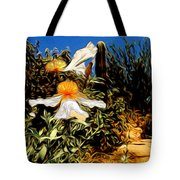 Flowers In Abstract 15 Tote Bag