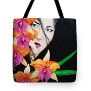 Flowers In My Garden Tote Bag