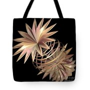 Flowers In Pink Tote Bag