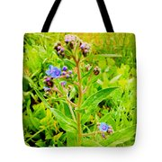 Flowers In The Garden Of Life Tote Bag