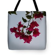 Flowers In The Sky Tote Bag