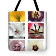 Flowers In The Yard Tote Bag