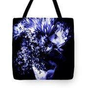 Flowers In Velvety Tones Tote Bag