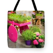 Flowers In Vienna Tote Bag