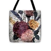 Flowers In Winter Tote Bag