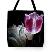 Flowers Lit Tote Bag