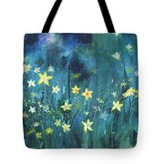 Flowers N Breeze Tote Bag