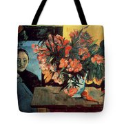 Flowers Of France Tote Bag