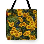 Flowers Of Joy Tote Bag