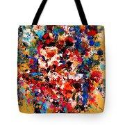 Flowers Of Love Tote Bag
