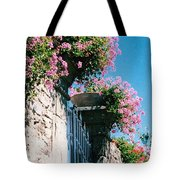 Flowers Of Panzano Photograph Tote Bag