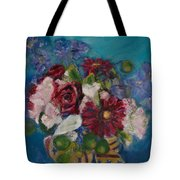 Flowers Of Remembrance Tote Bag